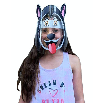 DIY Sticker Kids Face Shields Dog Snatcher Online Shopping South Africa