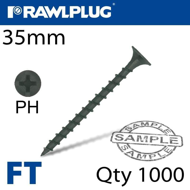 DRYWALL SCREW COARSE THREAD 35MM FOR TIMBER BOX OF 1000 Snatcher Online Shopping South Africa