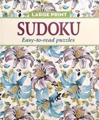 Easy To Read Puzzles_ Sudoku (Flowers Vintage) Snatcher Online Shopping South Africa