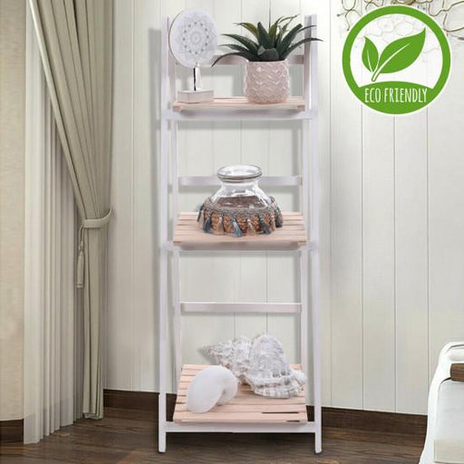 Eco 3-Layer Paulownia Wooden Shelf Rack Snatcher Online Shopping South Africa