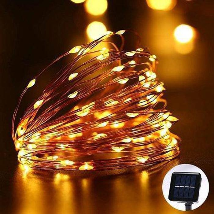 EcoBright Solar Fairy Lights Gold Snatcher Online Shopping South Africa
