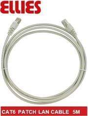 Ellies CAT6 SFTP 5m Network Patch Cable - Grey, Retail Box, No Warranty Snatcher Online Shopping South Africa