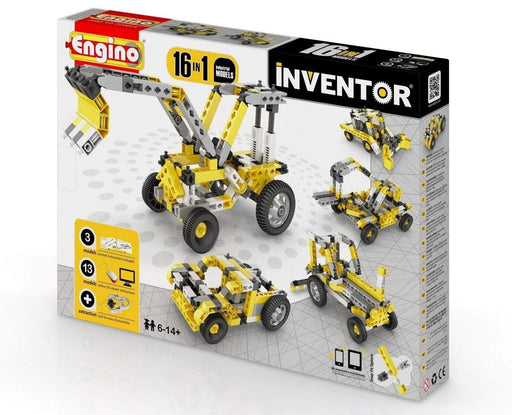 Engino Inventor 16 Models Industrial Snatcher Online Shopping South Africa