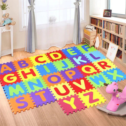 EVA Kids Mats- Numbers/Alphabet 26 Piece Alphabet Snatcher Online Shopping South Africa