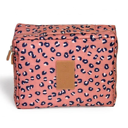Fashionable Cosmetic Case Pink Leopard Snatcher Online Shopping South Africa