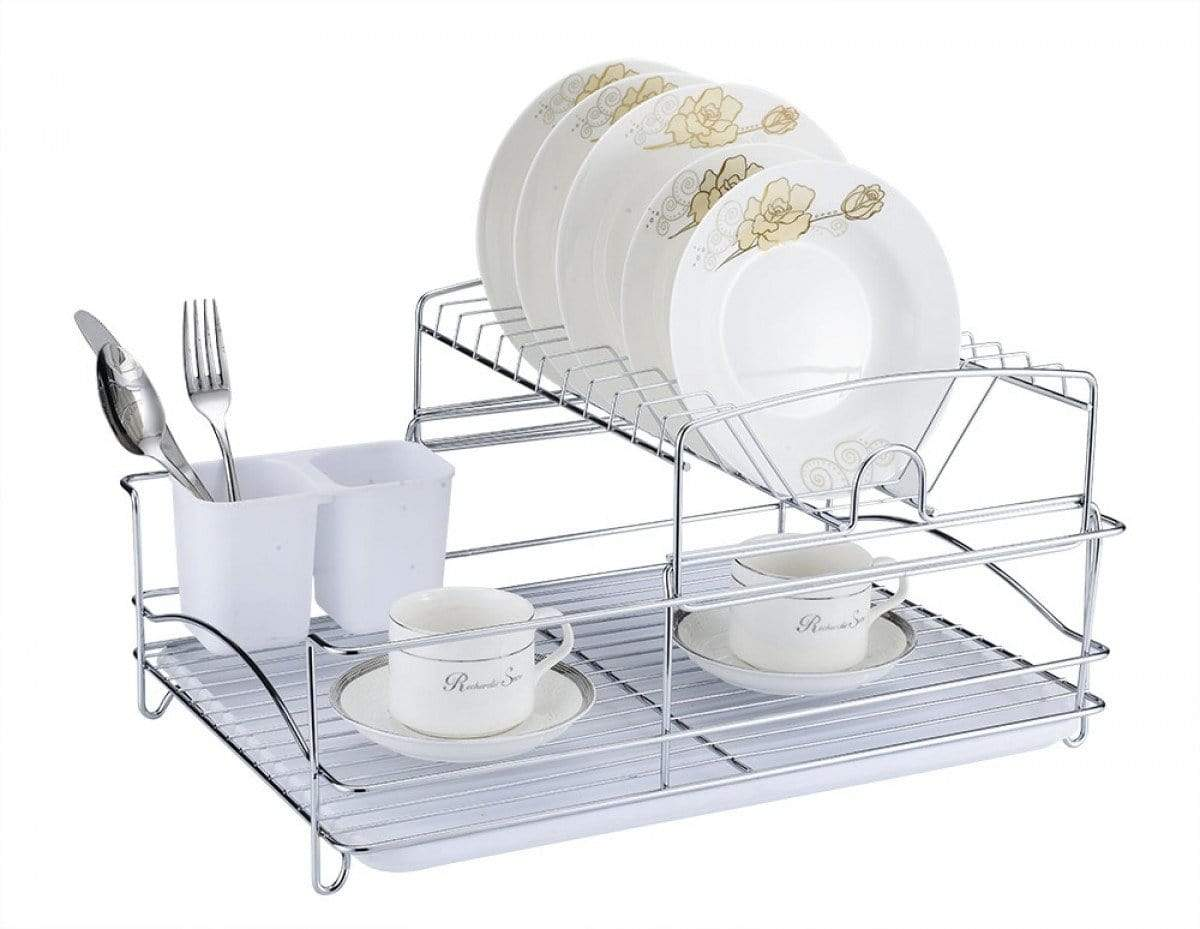 Fine Living Balcony Dish Rack - White Snatcher Online Shopping South Africa