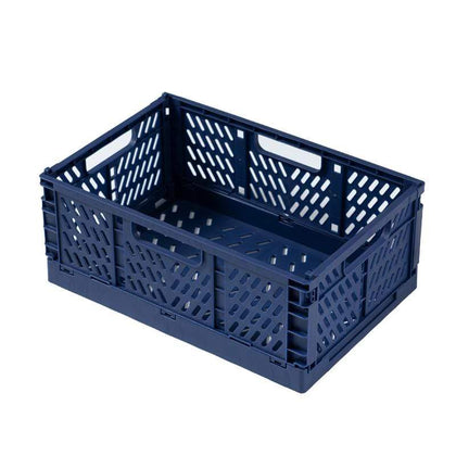 Fine Living Foldable Storage Crates Large / Blue Snatcher Online Shopping South Africa