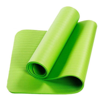 Fitness PVC Yoga Mat- Extra Thick Lime Snatcher Online Shopping South Africa