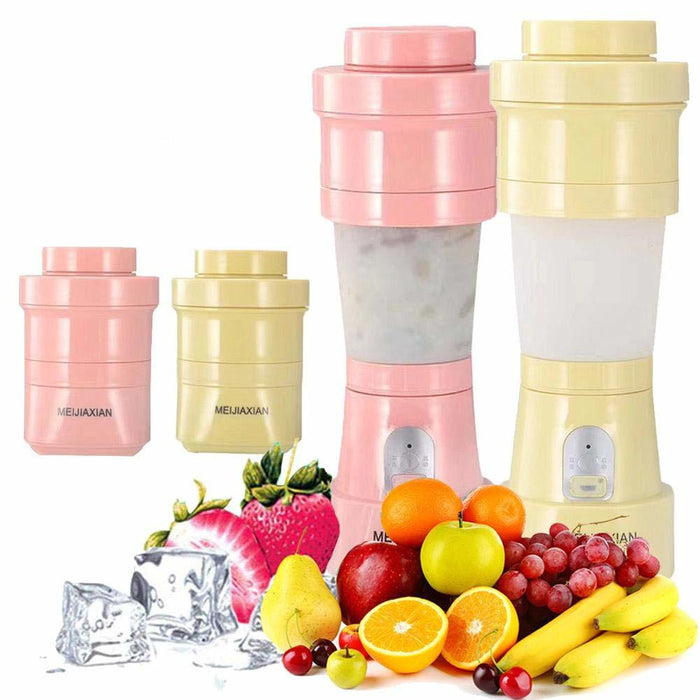 Foldable Portable Blender & Juicer Pink Snatcher Online Shopping South Africa