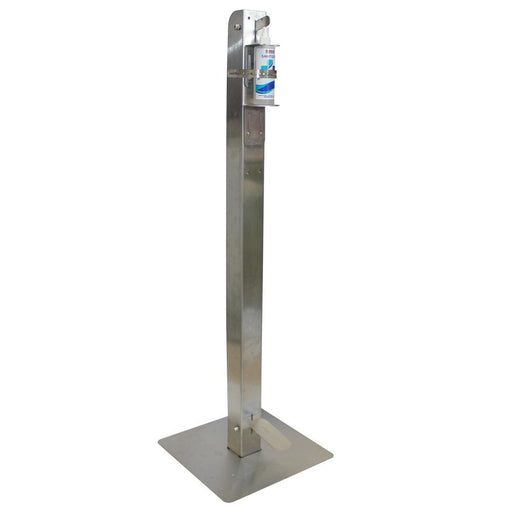 Free Standing Foot Operated Dispenser Stainless Steel (COVID 19) Snatcher Online Shopping South Africa