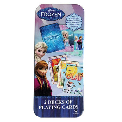 Frozen 2 Playing Cards (2 pack) in Tin Snatcher Online Shopping South Africa