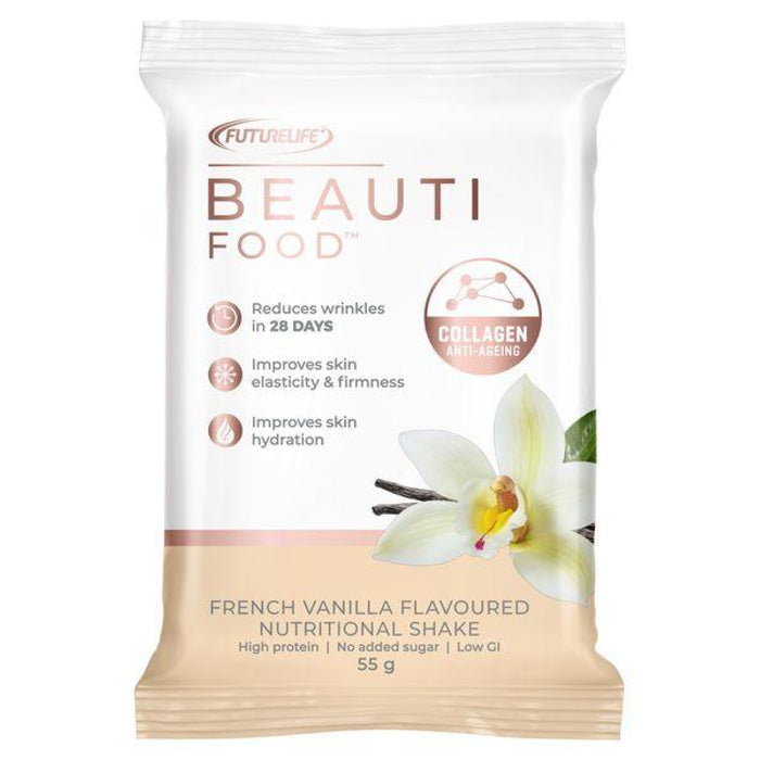 Futurelife Beautifood Nutritional Shake - 7 x 55g Sachets French Vanilla Snatcher Online Shopping South Africa