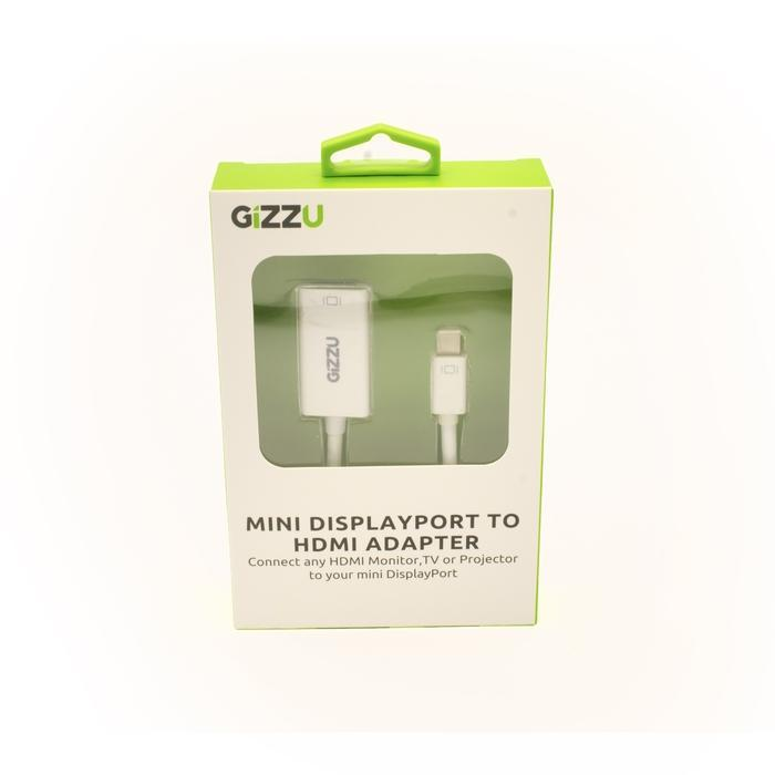 GIZZU Mini Display Port to HDMI Adapter White Snatcher Online Shopping South Africa