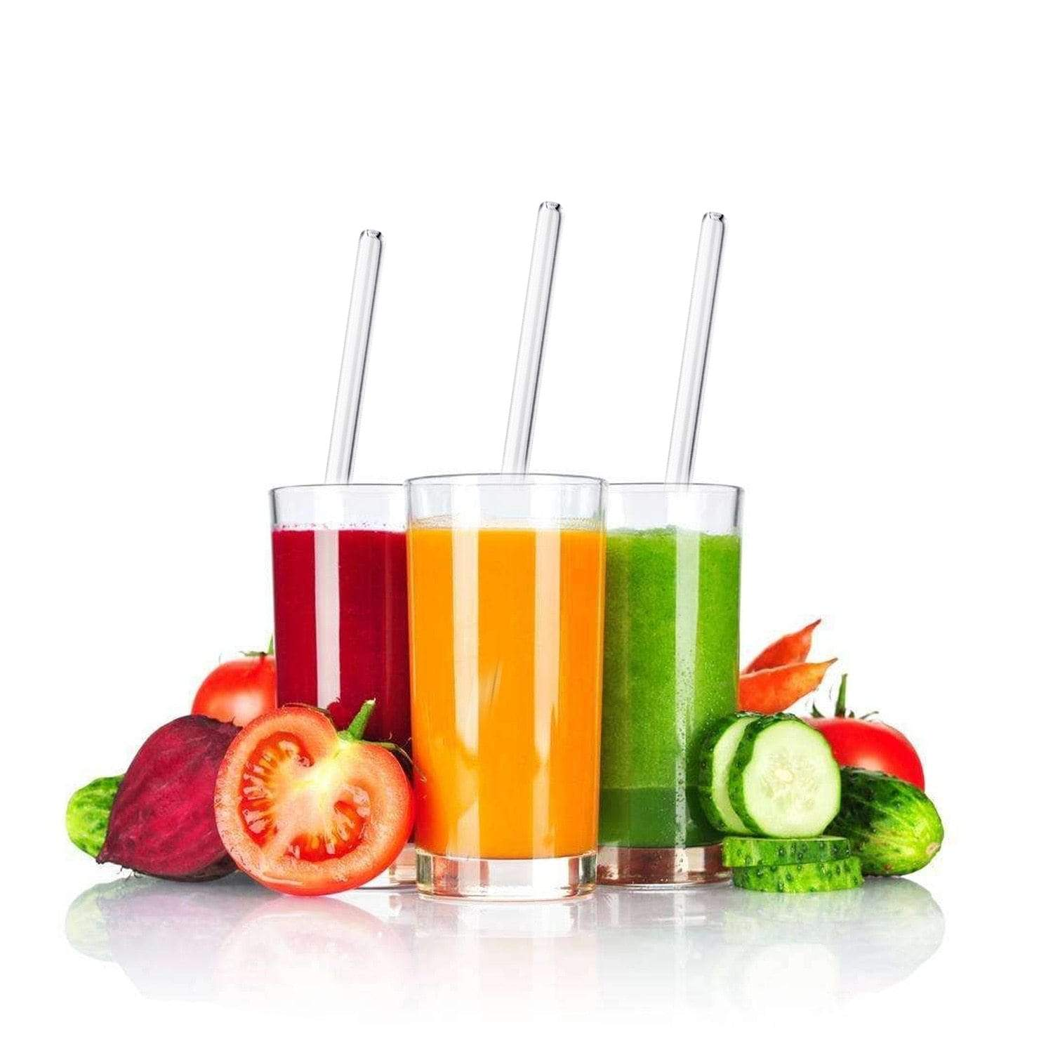 Glass Drinking Straws Set Snatcher Online Shopping South Africa