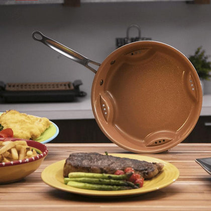Gotham Steel Air Fry Pan -No Lid Snatcher Online Shopping South Africa