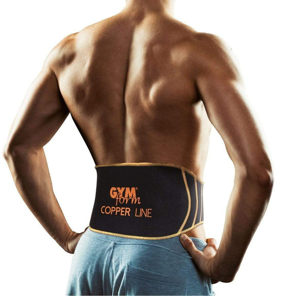 Gym Form Copper Line Back Support Brace Snatcher Online Shopping South Africa