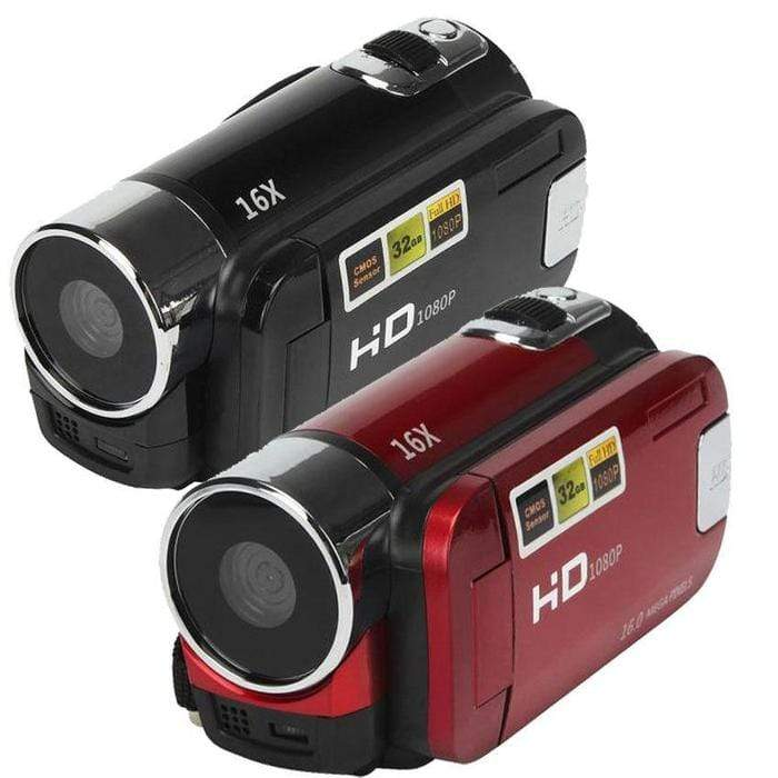 HD 12 Megapixel Digital Video Camera Recorder Black Snatcher Online Shopping South Africa