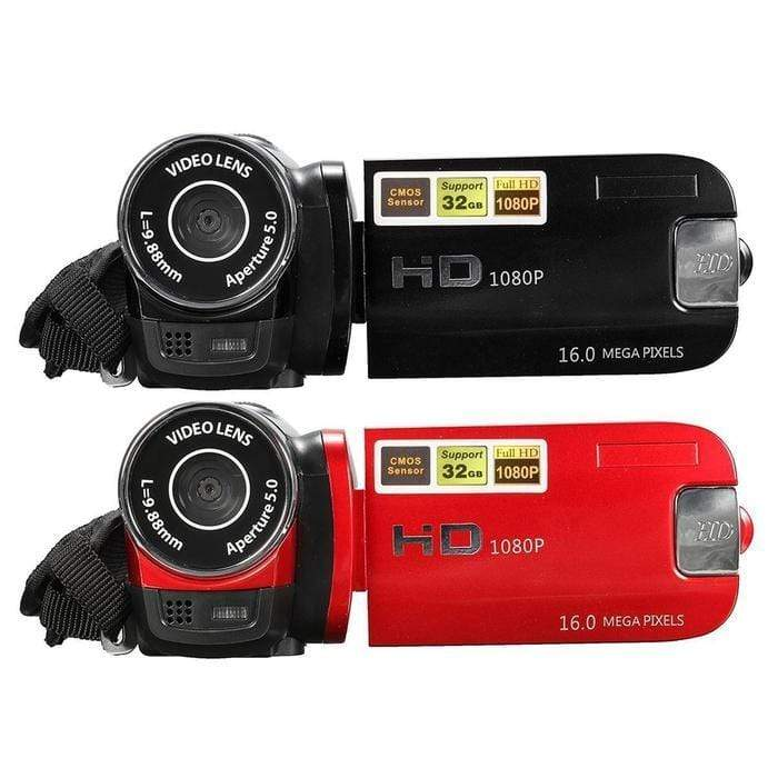 HD 12 Megapixel Digital Video Camera Recorder Red Snatcher Online Shopping South Africa