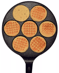 Heritage The Rock Waffle Pan - Dark Red Snatcher Online Shopping South Africa