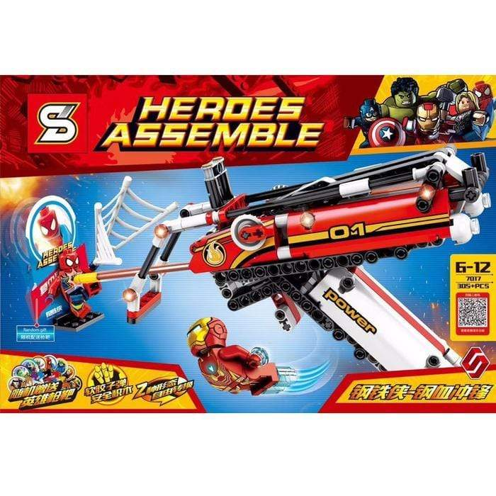 Heroes Assemble Building Blocks Set Snatcher Online Shopping South Africa