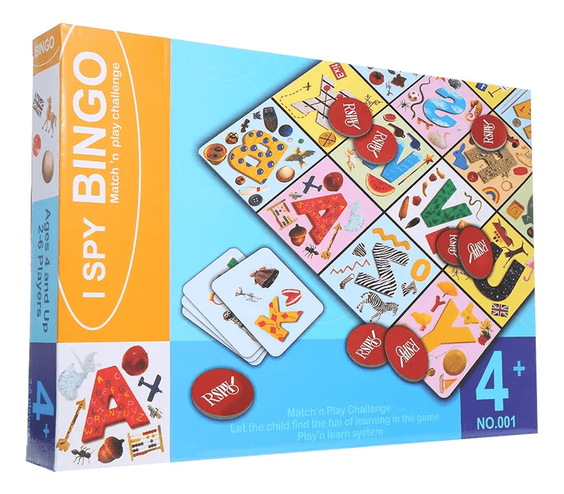 I Spy Bingo -Match & Play Challenge Snatcher Online Shopping South Africa