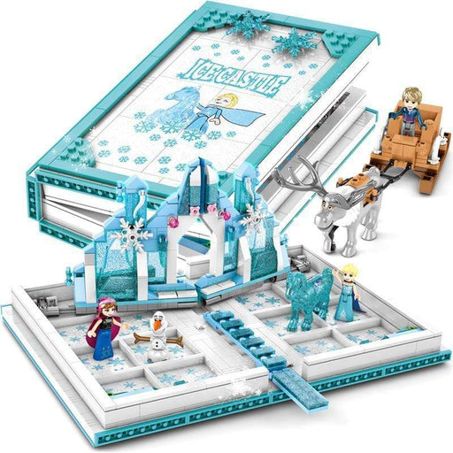 Ice Princess Castle Book -Building Blocks Snatcher Online Shopping South Africa