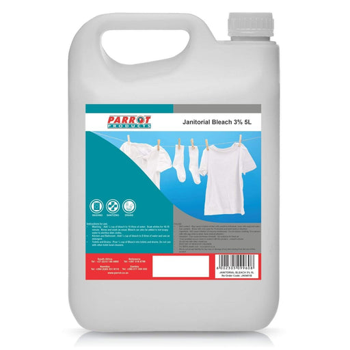 Janitorial Bleach 3% 5 Litre Snatcher Online Shopping South Africa