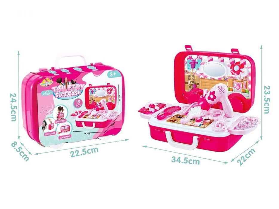 Jeronimo - Beauty Suitcase Set -NEW Pink Snatcher Online Shopping South Africa