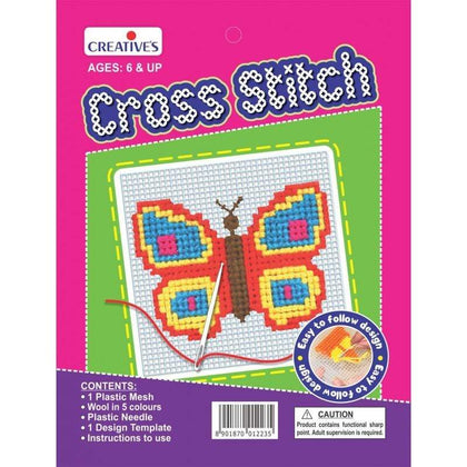 Kids Creative's Cross Stitch Sets Butterfly Snatcher Online Shopping South Africa