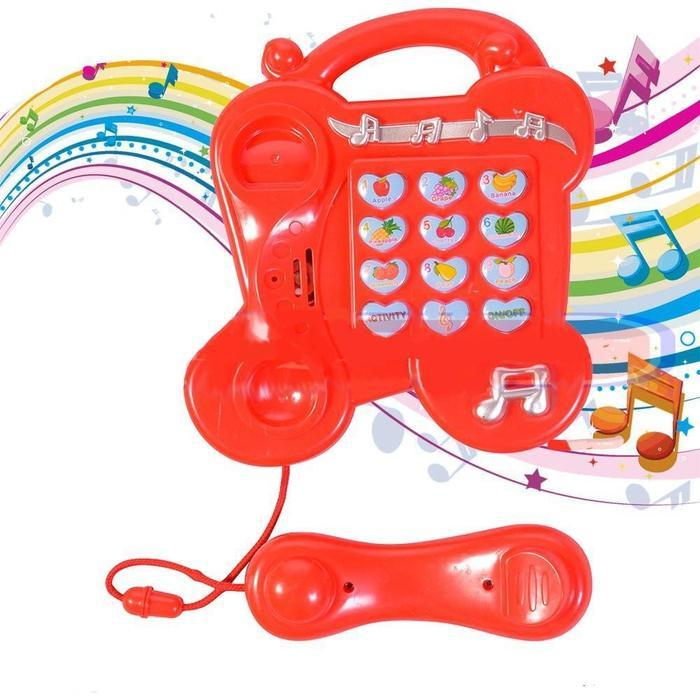 Kids Learning Activity Toy Telephone Red Snatcher Online Shopping South Africa