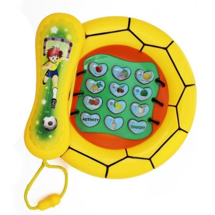 Kids Learning Activity Toy Telephone Yellow Snatcher Online Shopping South Africa