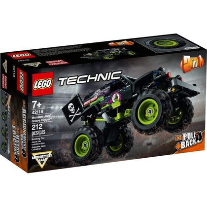 LEGO® 42118 - Technic™ Monster Jam®  Grave Digger® Snatcher Online Shopping South Africa
