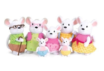 LI'L WOODZEEZ Mouse Family With Grandparents Snatcher Online Shopping South Africa