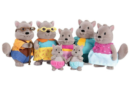 LI'L WOODZEEZ Squirrel Family With Grandparents Snatcher Online Shopping South Africa