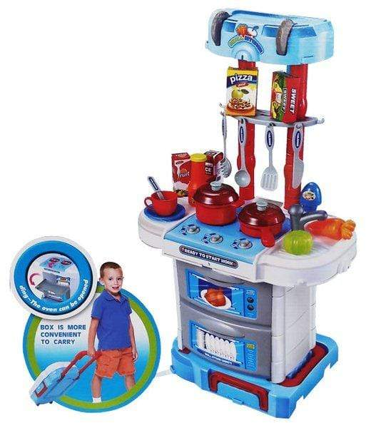 Little Chef Kitchen Set - 43 Pieces Snatcher Online Shopping South Africa