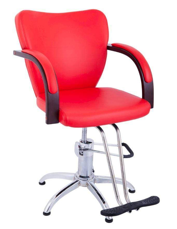 Lucky Salon Chair Retro Styling Red Snatcher Online Shopping South Africa