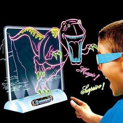 Magic 3D Drawing Board With 3D Activity Glasses Snatcher Online Shopping South Africa