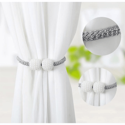 Magnetic Curtain Tiebacks Silver Snatcher Online Shopping South Africa