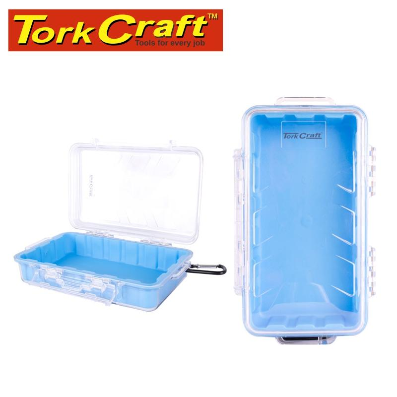 MICRO CASE BLUE 247 X 143 X 66MM SIL./LINER WITH CARABIN.CLIP Snatcher Online Shopping South Africa