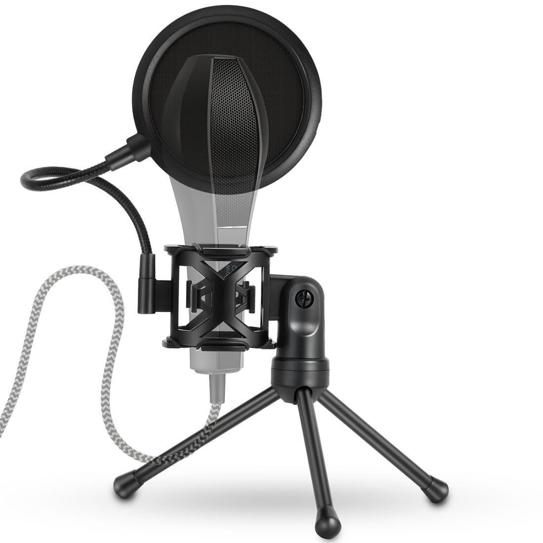 Mini Microphone POP-Filter Shockproof Desktop Stand Snatcher Online Shopping South Africa