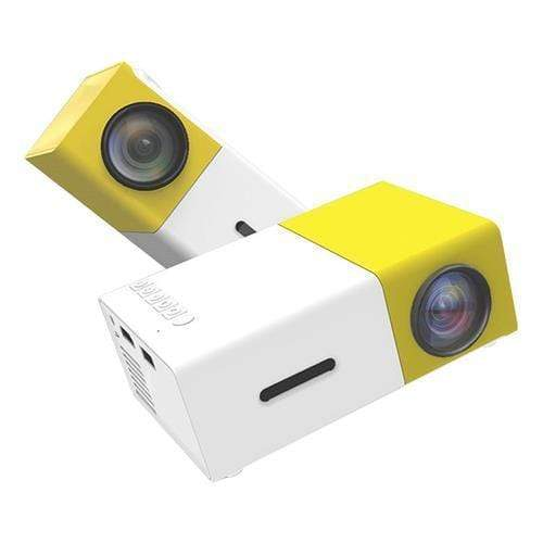 Mini Yellow Portable LED Projector Snatcher Online Shopping South Africa
