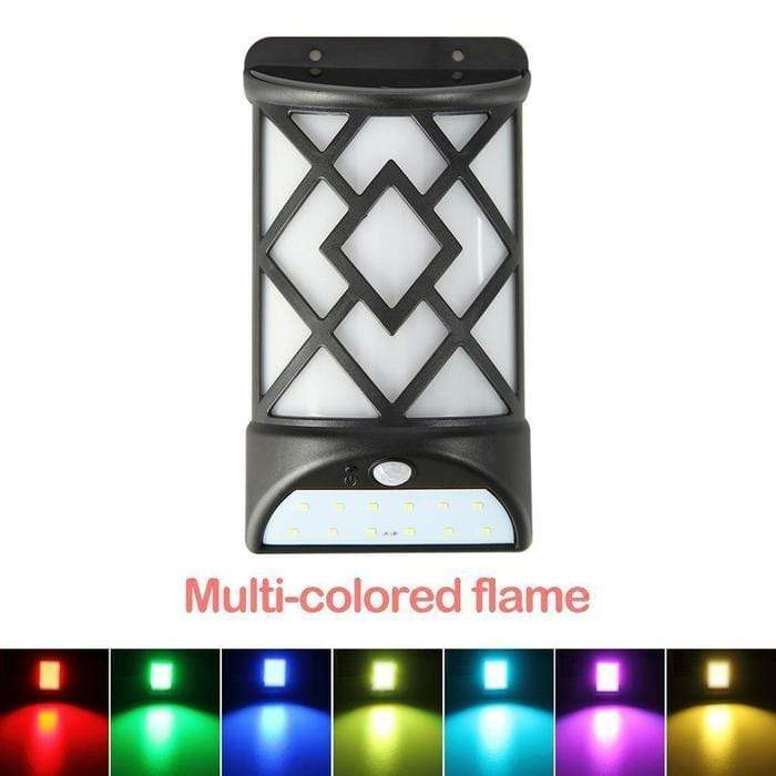 Multi-Colored Wall Solar Lights Snatcher Online Shopping South Africa