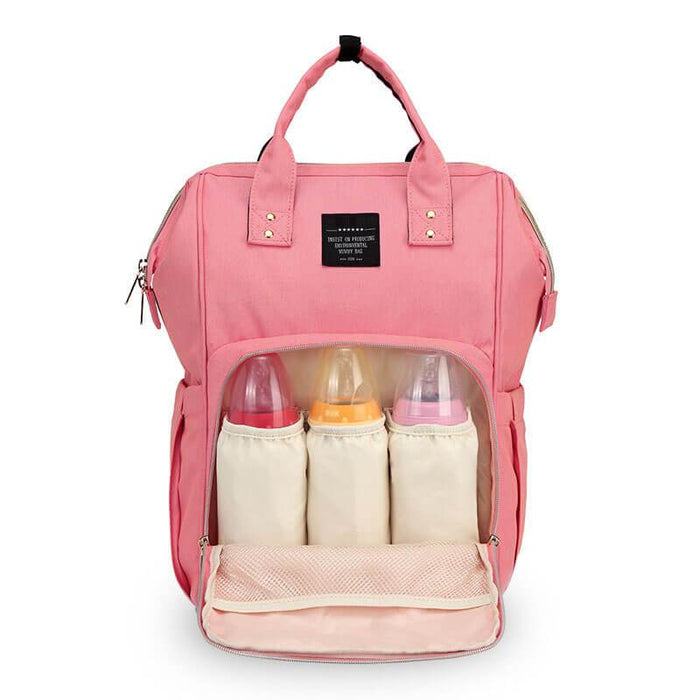 Multi-Function Nappy Backpack Pink Snatcher Online Shopping South Africa