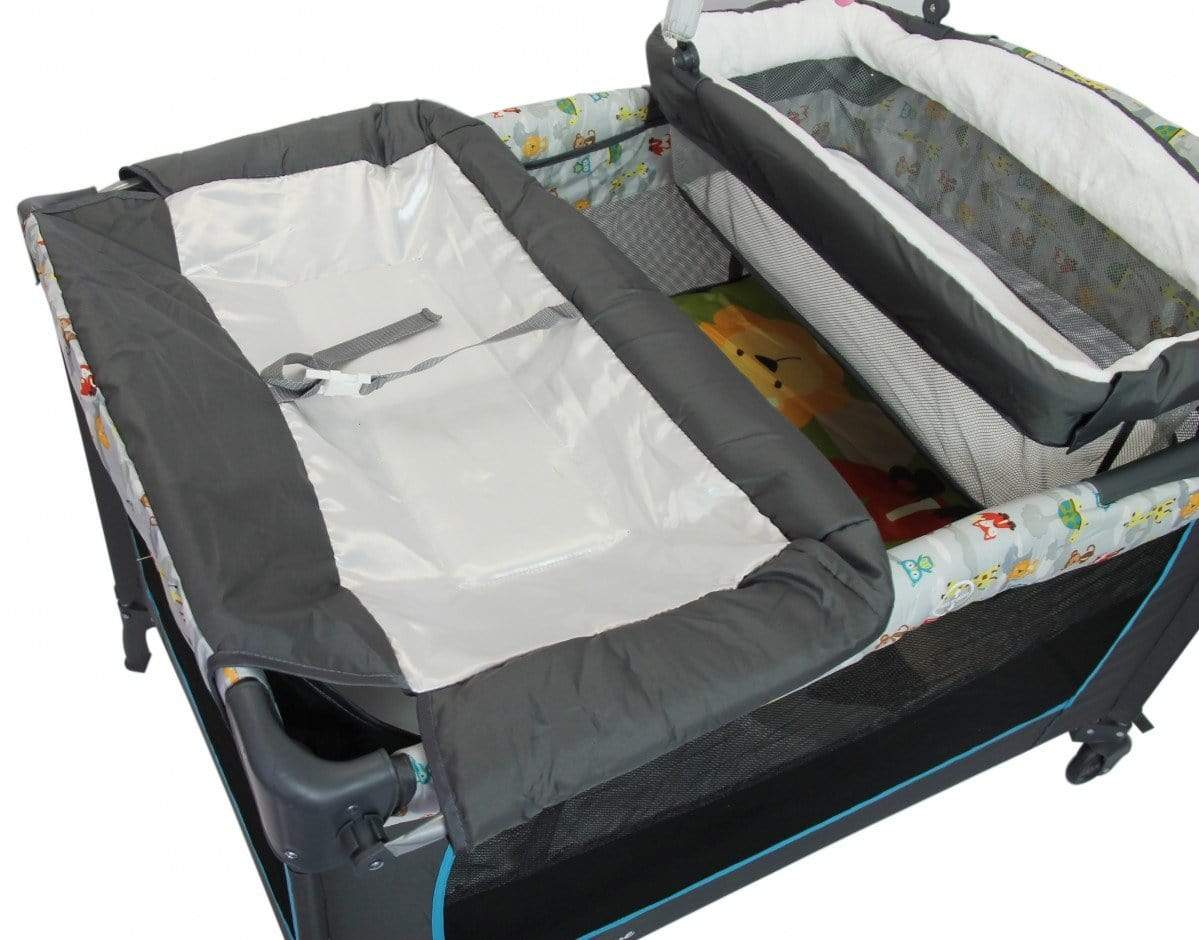 Nuovo Camp Cot With Bassinet Snatcher Online Shopping South Africa