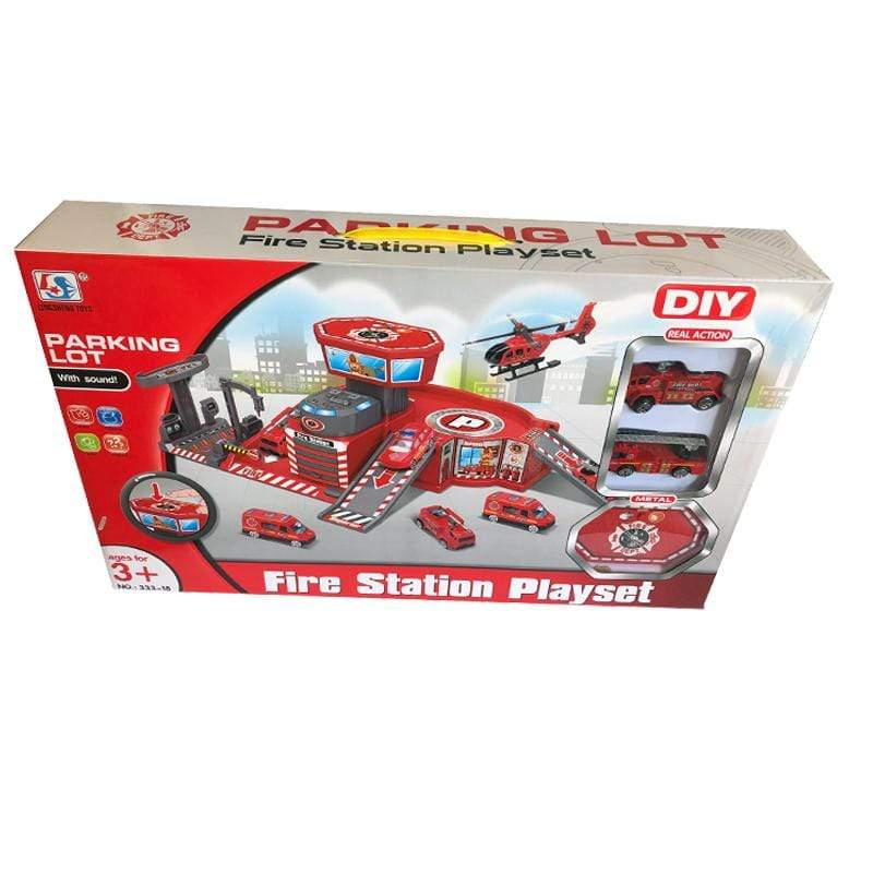 Parking Lot Fire Station Playset With Sound Snatcher Online Shopping South Africa