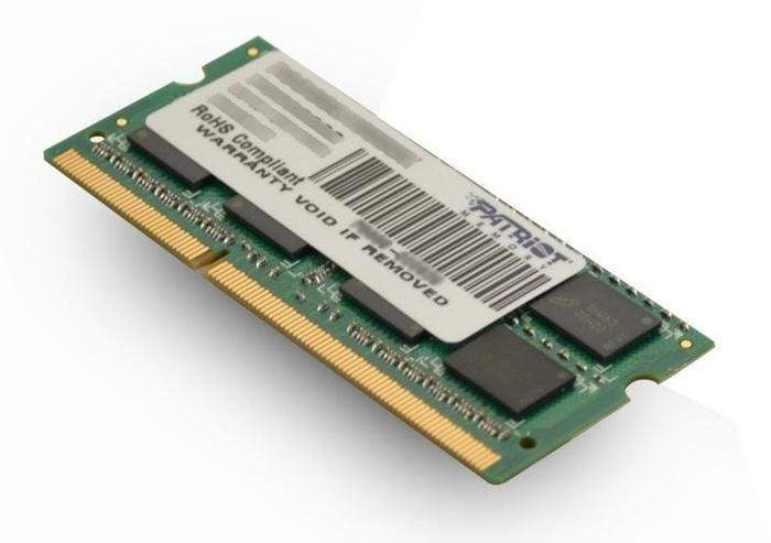 Patriot Signature Line 4GB DDR3 1600MHz SO-DIMM Dual Rank Snatcher Online Shopping South Africa
