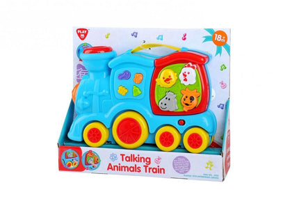 PLAY GO B/O TALKING ANIMAL TRAIN Snatcher Online Shopping South Africa