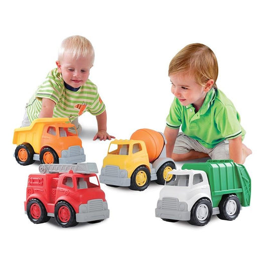 Play Go Mighty Wheels Combo City Vehicles 4 Piece Snatcher Online Shopping South Africa