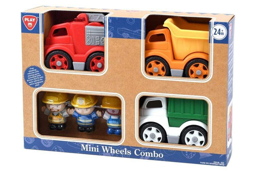 Play Go Mini Wheels Combo City Vehicles 3 Piece Snatcher Online Shopping South Africa