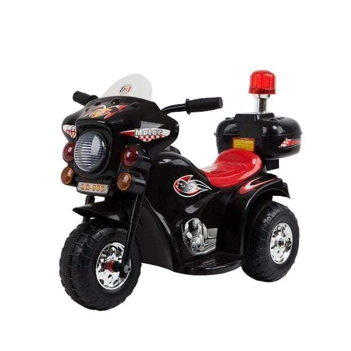 Police Motorbike -Kids Ride On Black Snatcher Online Shopping South Africa